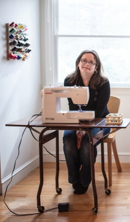 Abby Glassenberg Sewing