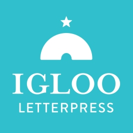 igloo letterpress