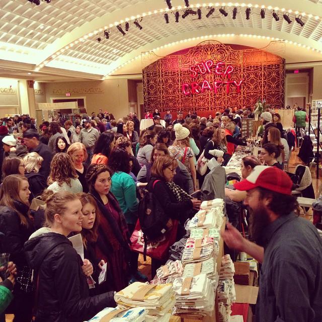 crafty supermarket crowd