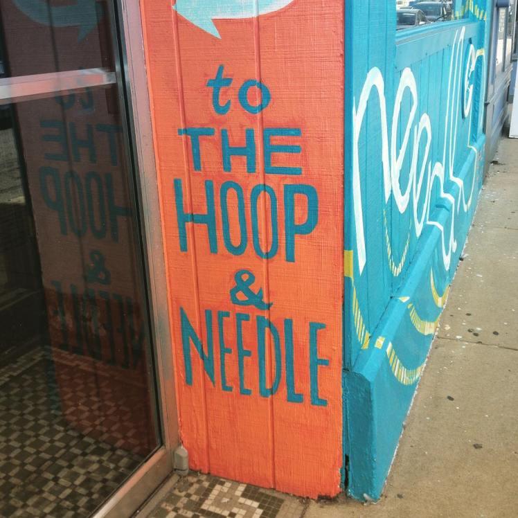 hoop and needle