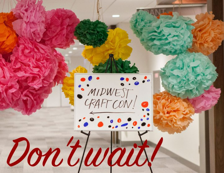 midwest craft con, craft conference ticket sales