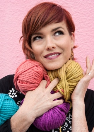 vickie howell, the knit show
