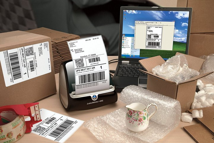 dymo shipping label maker