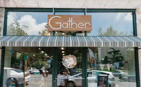 gather, indie craft store, bloomington indiana