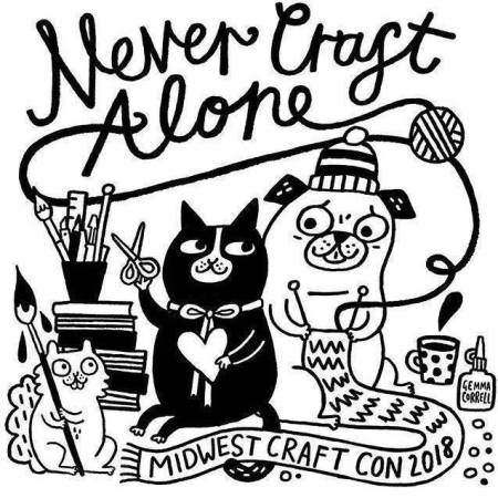 never craft alone, gemma correll